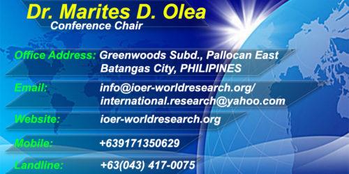 Dr. Marites Olea Contact Info