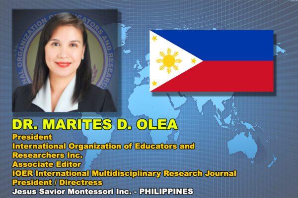 IOER Pres Dr_Marites_D_Olea